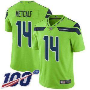 Seattle Seahawks D.K. Metcalf 100th Season Jersey